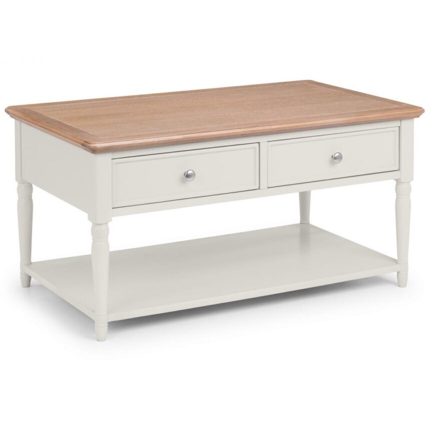 Provence 2 Drawer Coffee Table